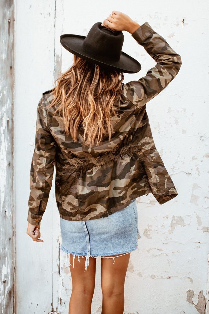 Lost and Found Camo Jacket