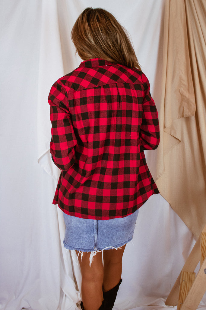 Alpine Plaid Shacket