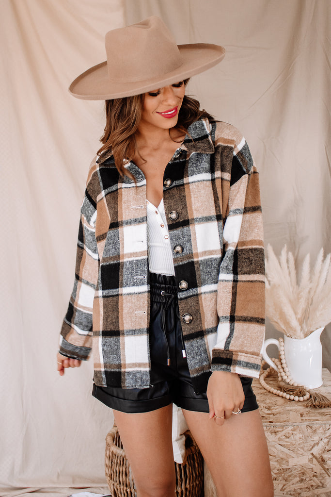 The Maude Plaid Flannel