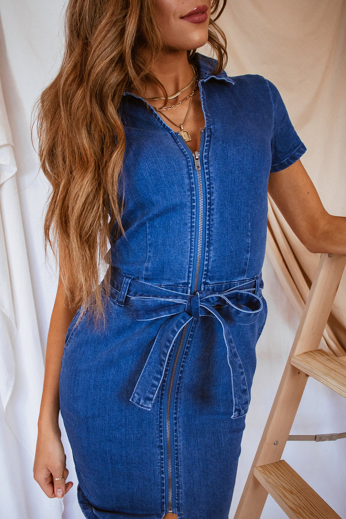 The Dallas Denim Dress