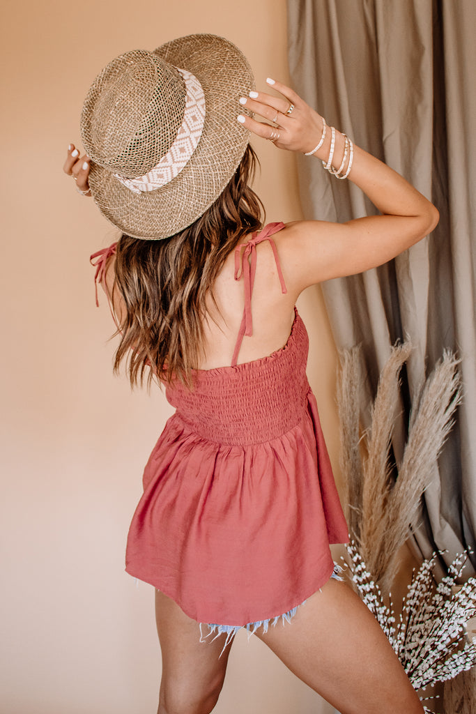 Summer Lovin' Smocked Top