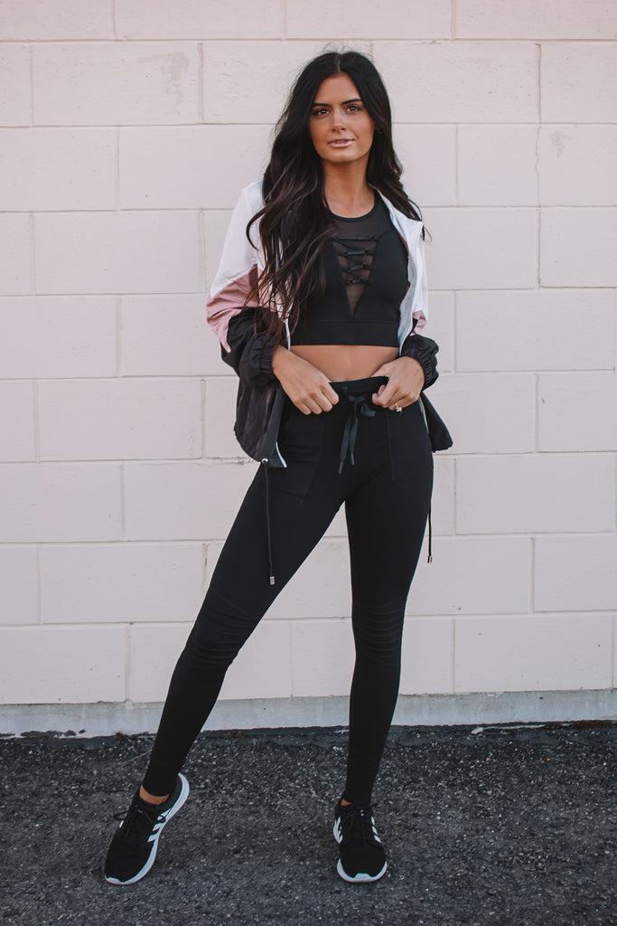 The Noir Jogger Leggings