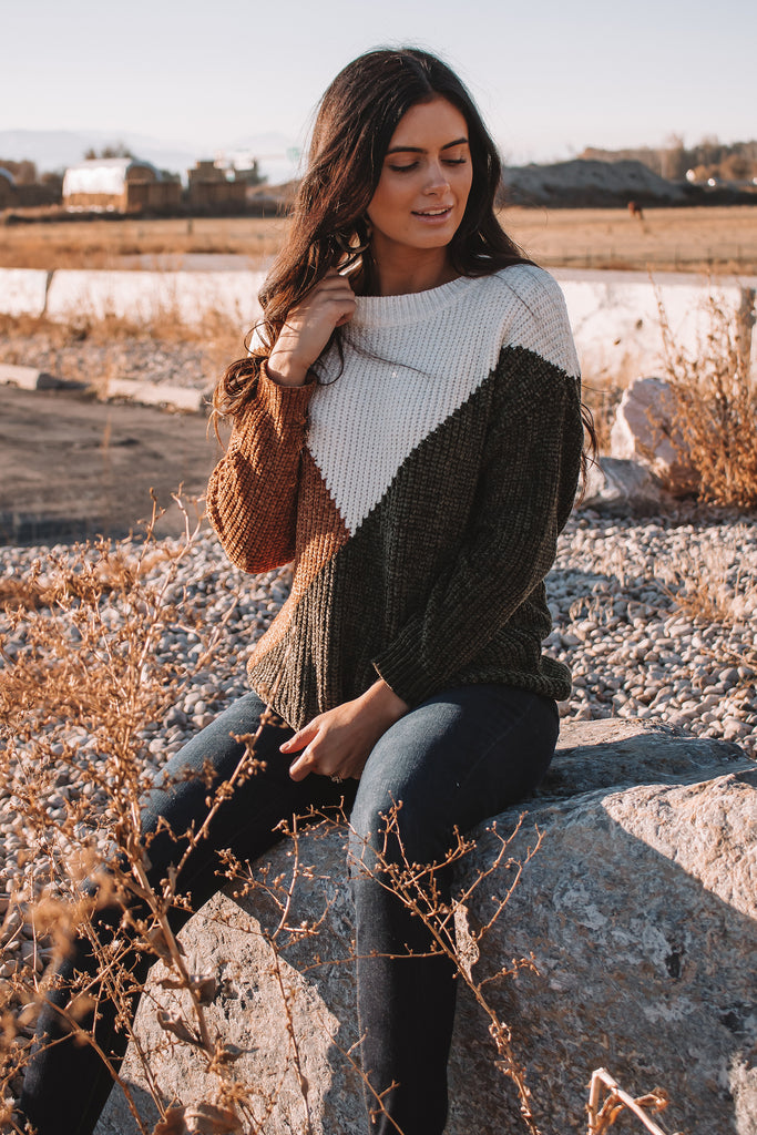 RESTOCK - The Rayna Chenille Sweater