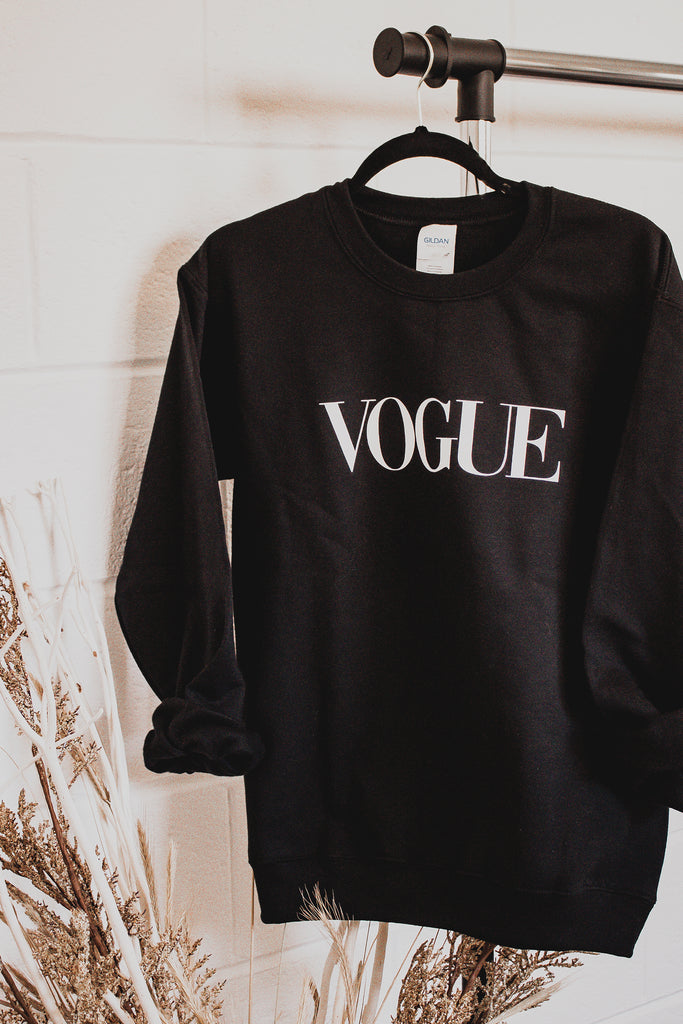Vogue Graphic Sweatshirt