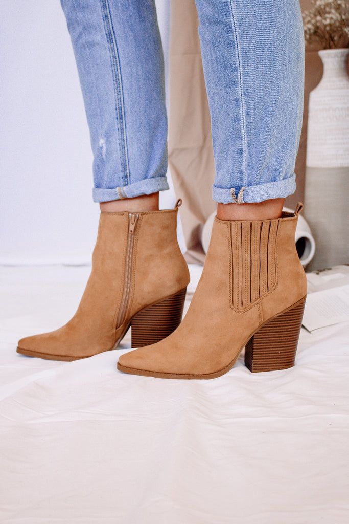 Cleo Butterscotch Booties