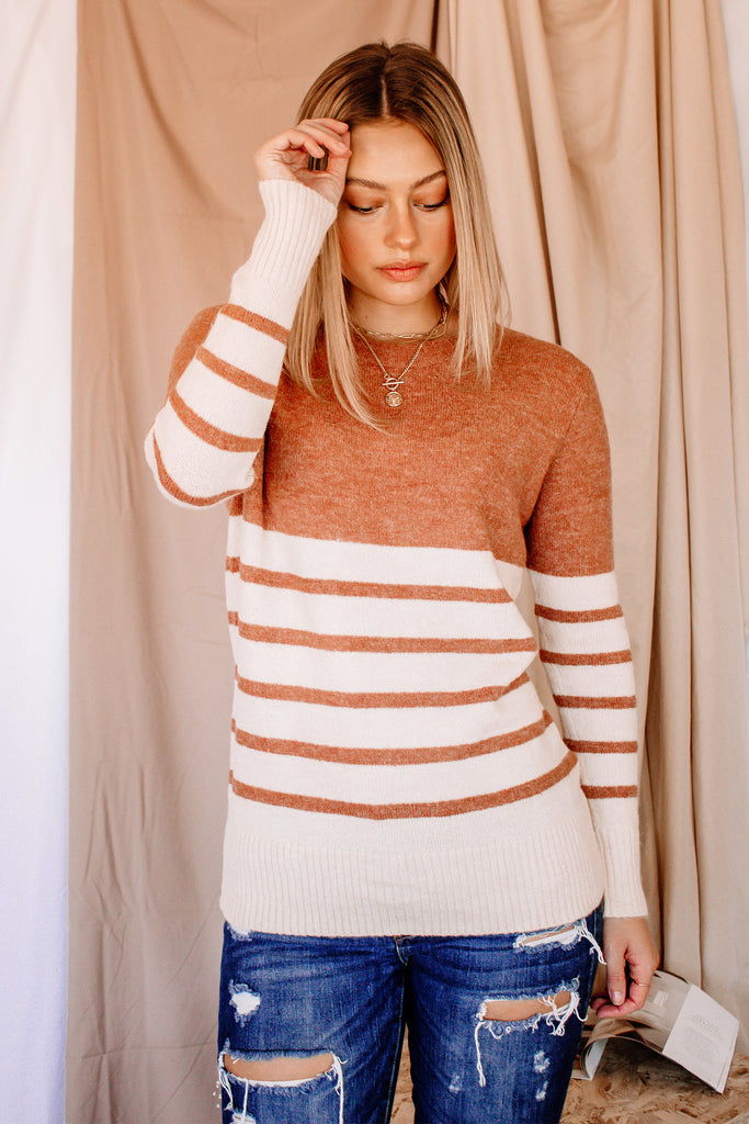 The Kensington Colorblock Sweater