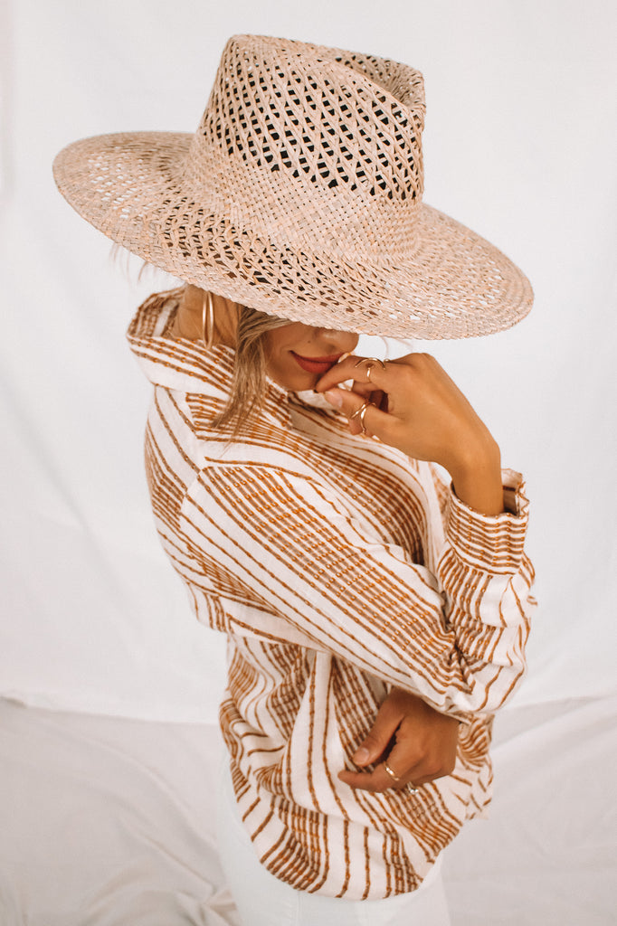 The Wren Straw Hat