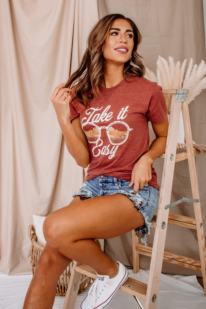 Take It Easy Graphic Tee