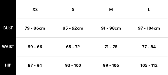 Lonely Sizing Guide