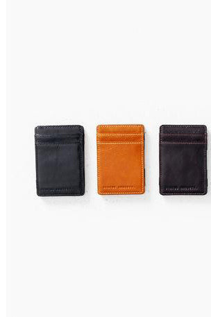 Status Anxiety - Flip Wallet, Black