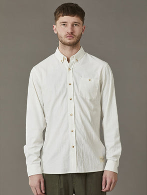 Just Another Fisherman - Anchorage Shirt, White