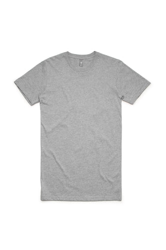 Crayon - Tall Tee, Grey Marle
