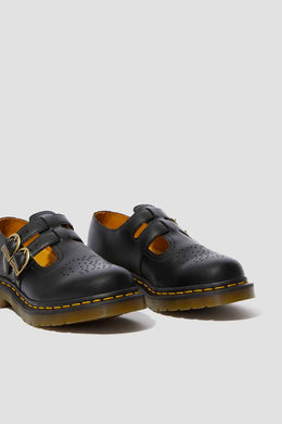 Dr Martens - 8065 Mary Jane Shoes, Black Smooth