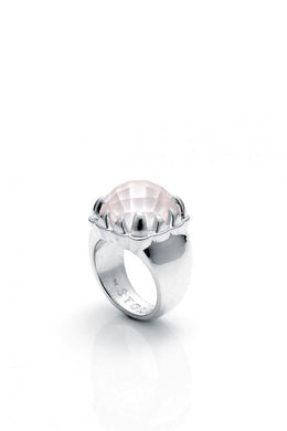 Stolen Girlfriends Club - Claw Ring, Rose Quartz