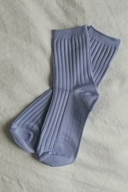 Le Bon Shoppe - Her Socks Solid, Periwinkle