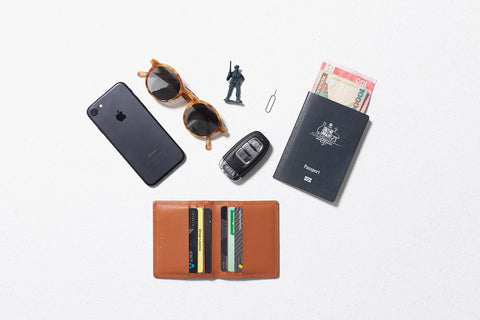 Status Anxiety - Lennen Wallet, Camel