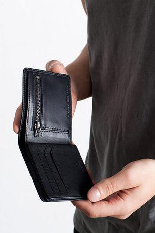 Status Anxiety - Leonard Wallet, Black