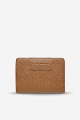 Status Anxiety - Popular Problems Wallet, Tan
