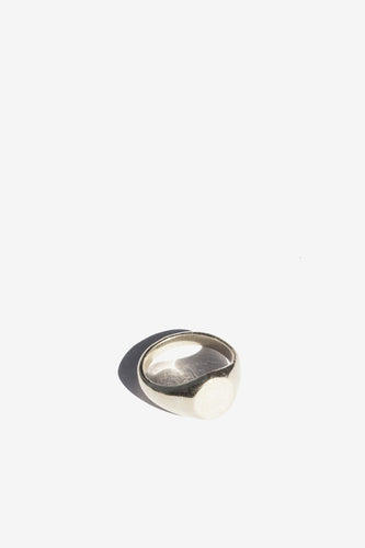 Flash Jewellery - Classic Signet Ring, Silver