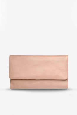 Status Anxiety - Audrey Wallet, Dusty Pink