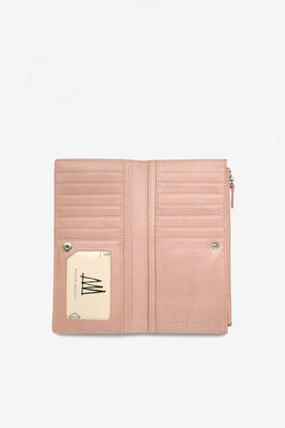 Status Anxiety - Dakota Wallet, Dusty Pink
