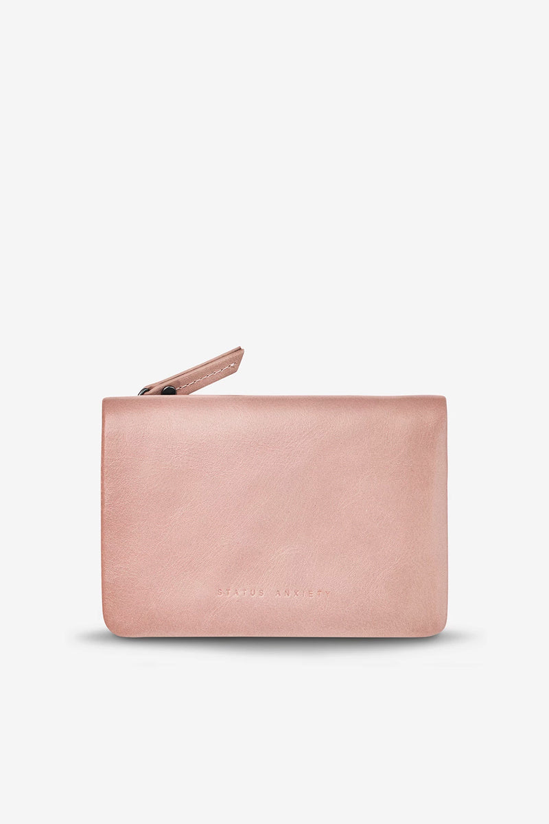 Status Anxiety - Is Now Better Wallet, Dusty Pink