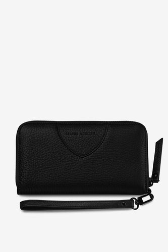 Status Anxiety - Moving On Wallet, Black