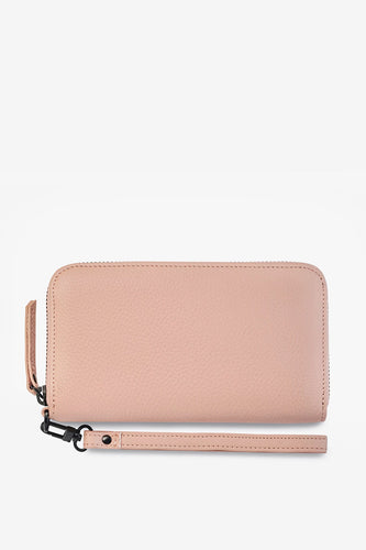 Status Anxiety - Moving On Wallet, Dusty Pink