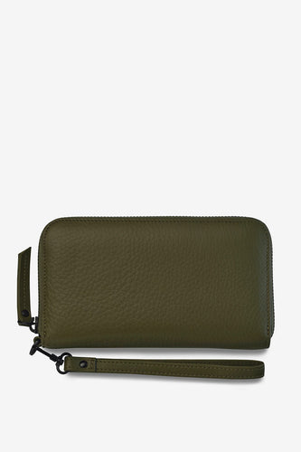 Status Anxiety - Moving On Wallet, Khaki