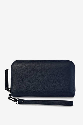 Status Anxiety - Moving On Wallet, Navy Blue