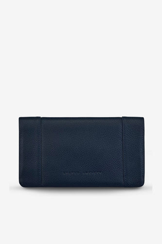 Status Anxiety - Some Type Of Love Wallet, Navy Blue
