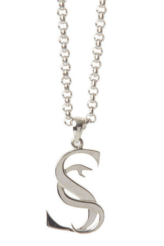 Stolen Girlfriends Club - S-Logo Pendant, Silver