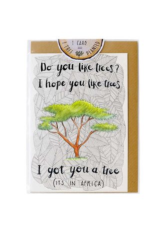 Little Difference - I Got You A Tree Card