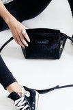 Status Anxiety - The Ascendants Bag, Black Fur