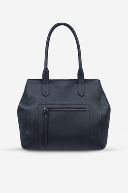 Status Anxiety - Abandon Tote, Navy Blue