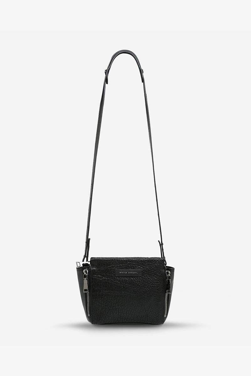 Status Anxiety - The Ascendants Bag, Black Bubble/Gunmetal
