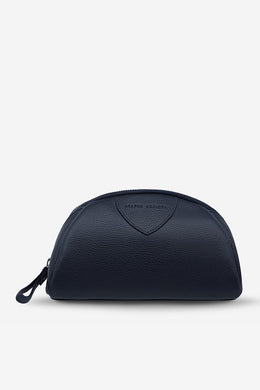 Status Anxiety - Adrift Cosmetics Bag, Navy Blue