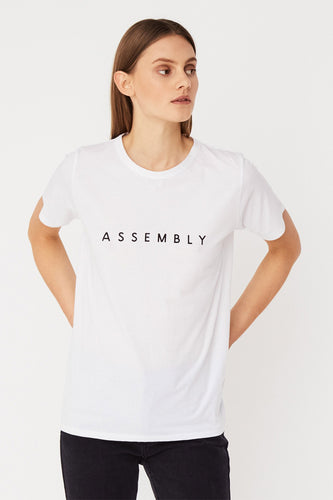 Assembly Label - Extend Tee, White