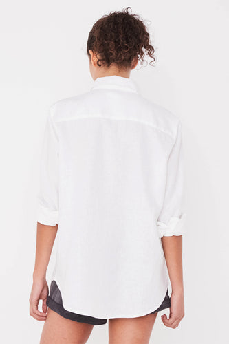 Assembly Label - Xander Shirt, White