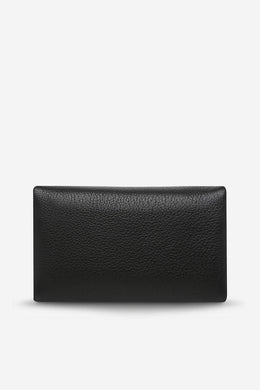Status Anxiety - Audrey Wallet, Black Pebble