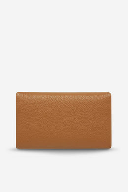 Status Anxiety - Audrey Wallet, Tan Pebble