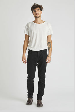 Rollas - Tim Slim Jeans, Black Raven