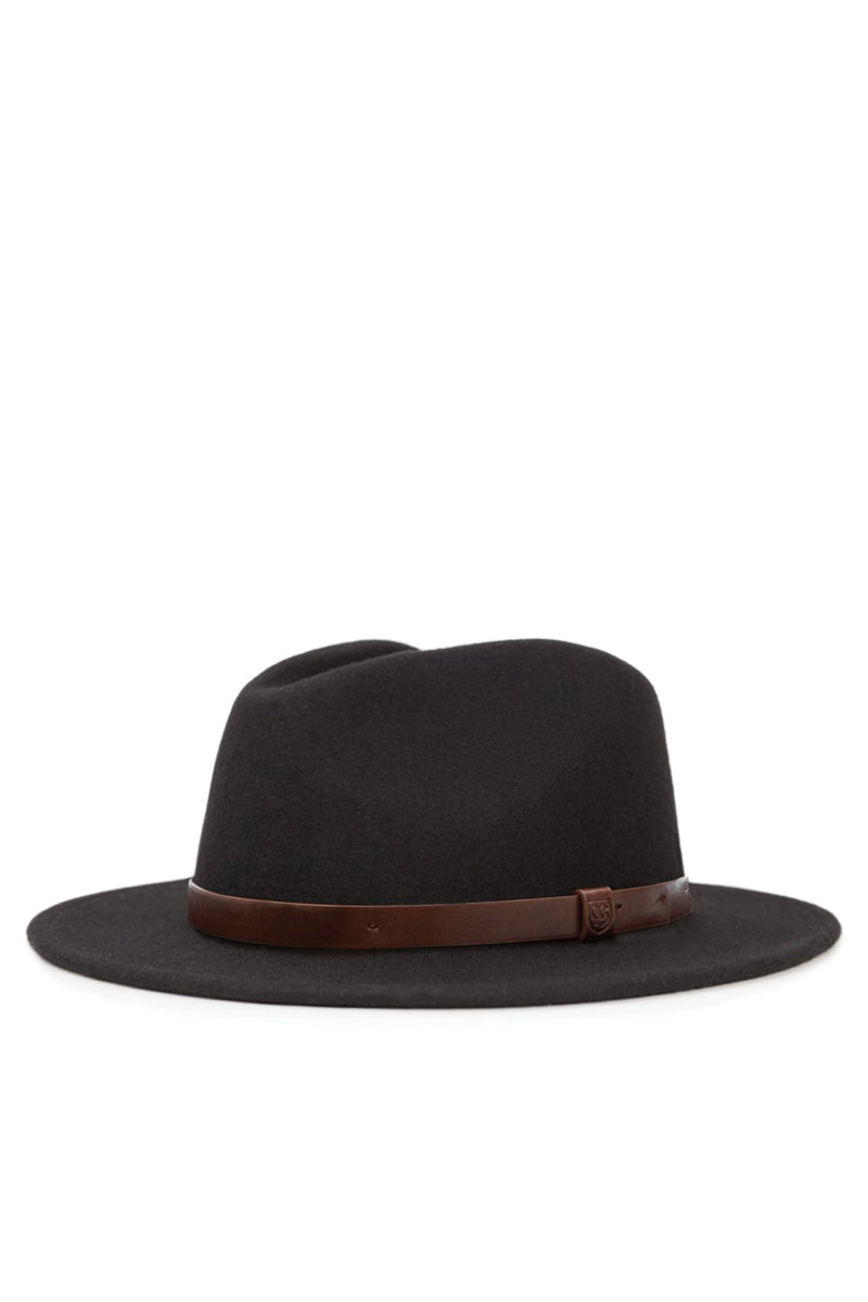 Brixton - Messer Fedora, Black