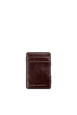 Status Anxiety - Flip Wallet, Chocolate