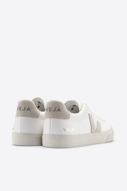 Veja - Campo ChromeFree Leather Sneaker, Extra White Natural Suede