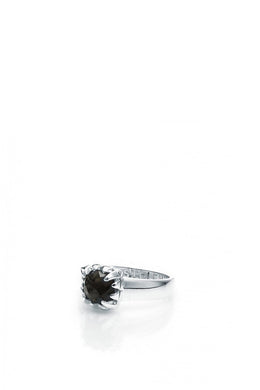 Stolen Girlfriends - Baby Claw Ring, Silver/ Onyx