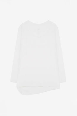 Commoners - Womens Basic Longsleeve Tee, White