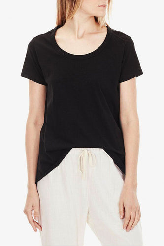Commoners - Womens Basic Tee, Black