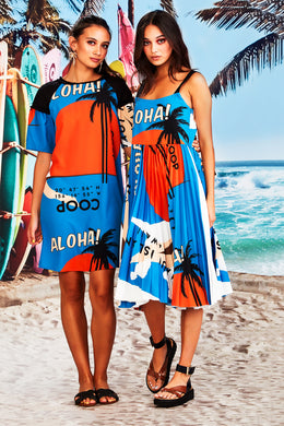 Coop - Shifting Sands Dress, Maui Print