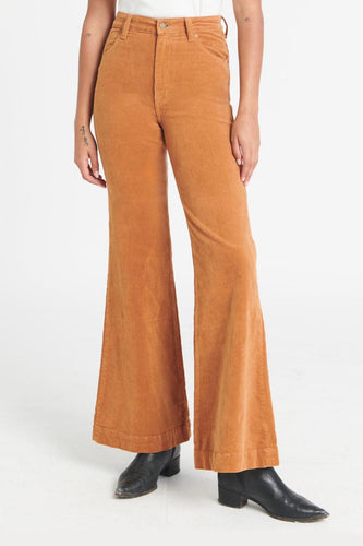 Rollas - Eastcoast Flare Jean, Tan Cord